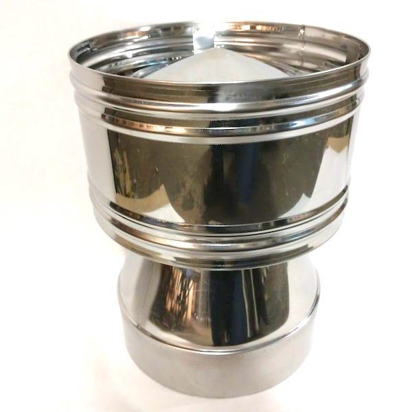 Дефлектор конус из нержавеющей стали для дымохода