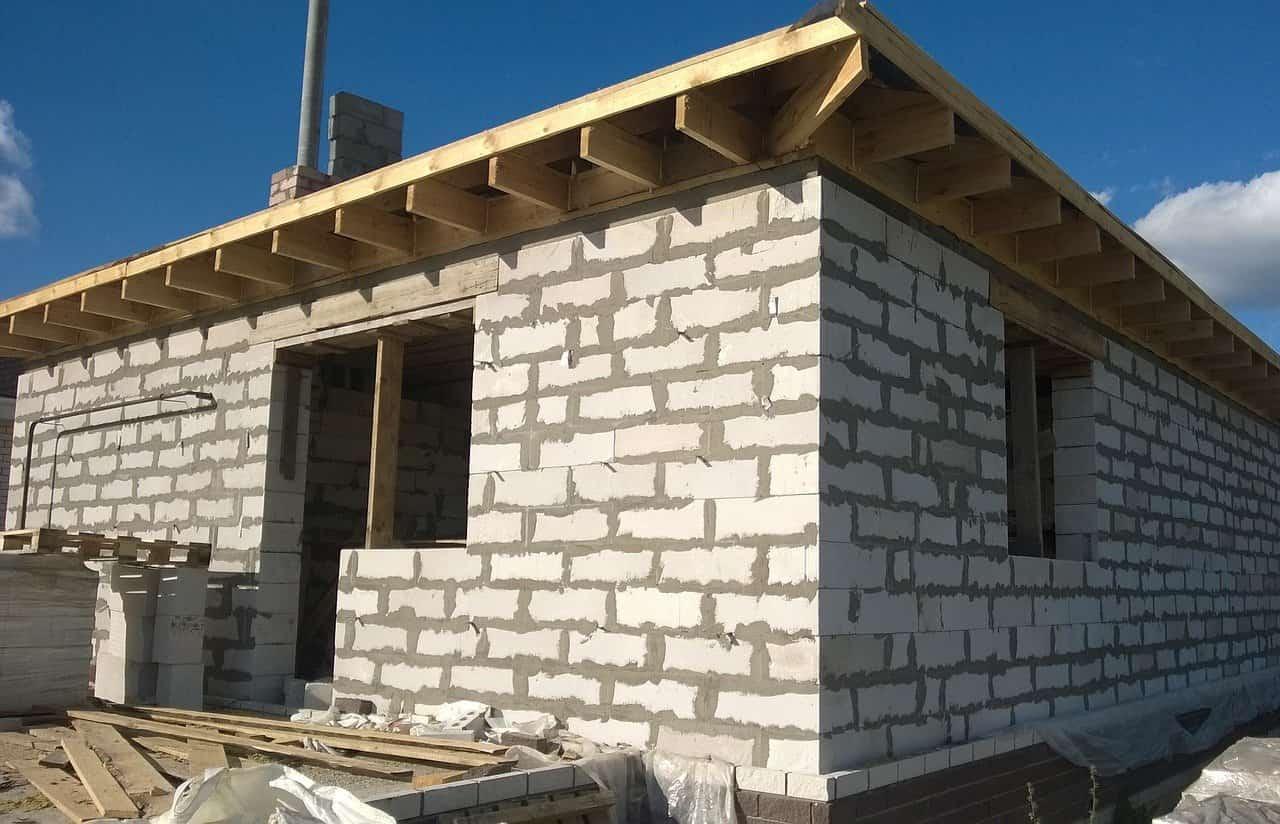 Строим баню из газобетона